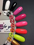Гель-краска Nice for you P-5 (кукольный розовый) , 5 мл, фото 3