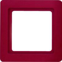 Рамкa 1-местная красная бархат Berker Q1