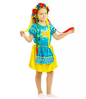 Карнавальный национальный костюм Украинки девочка  (5-10 лет)