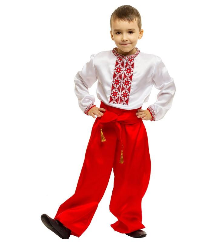 Карнавальный национальный костюм Казак Украинца украинец (5-10 лет)