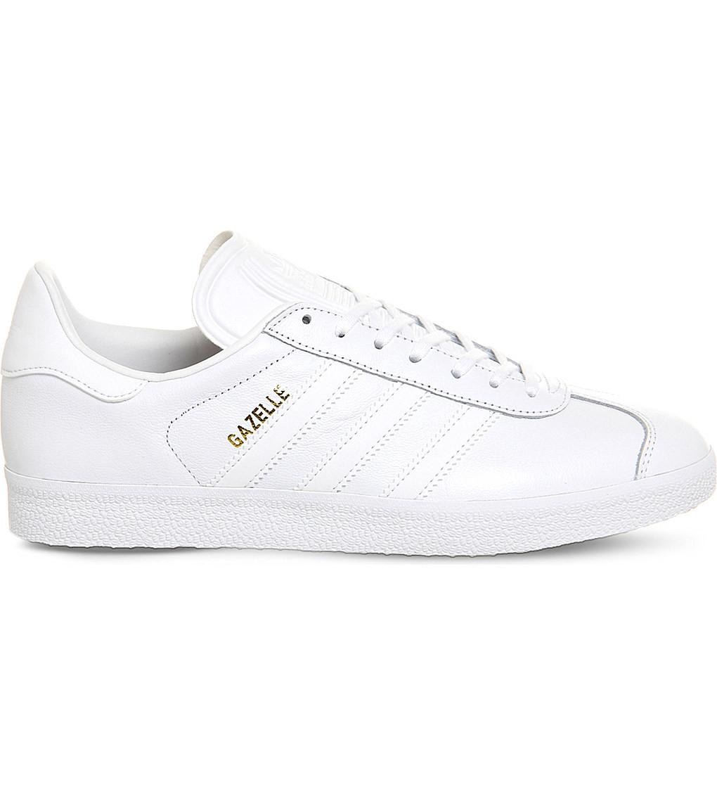 Кроссовки Adidas Gazelle White Leather