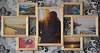 Фоторамка  на 7 фотографий, в интернет магазине.