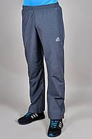 Брюки мужские спортивные Adidas летние Темно-серые
