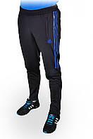 Брюки спортивные мужские ADIDAS зауженные Темно-синие