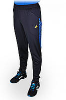 Брюки спортивные мужские ADIDAS зауженныеТемно-синие