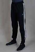 Спортивные мужские штаны Adidas на манжете Темно-синие