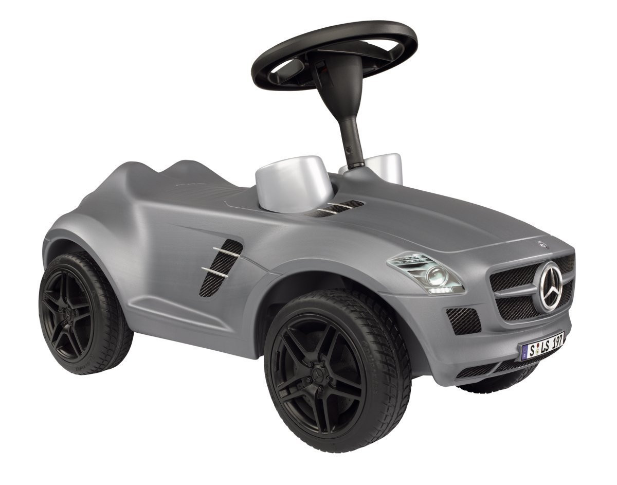 Машинка каталка толокар Bobby SLS AMG MERCEDES BENZ BIG 0056344