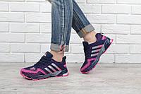 Кроссовки Adidas Marathon TR 21 синие с розовым, Розовый, 41