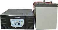 Комплект резервного питания ИБП Luxeon UPS-500ZY + АКБ Vimar BG110-12 110Ah для 8-13ч работы газового котла