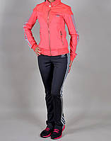 Женский спортивный костюм Adidas 1029 Коралловый