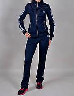 Женский спортивный костюм Adidas 1030 Темно-синий
