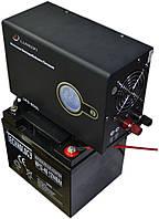 Комплект резервного питания ИБП Luxeon UPS-500L + АКБ TECHNOLOGY NP12-75Ah для 6-9ч работы газового котла