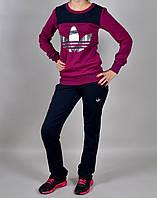 Женский спортивный костюм Adidas 1037 Фиолетовый