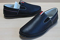Туфли подростковые на мальчика, детская школьная обувь, мокасины тм Том.м р.33,34,35,36,37,38,39,40