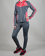 Женский спортивный костюм Adidas Stella Mccartney 1043 Серый