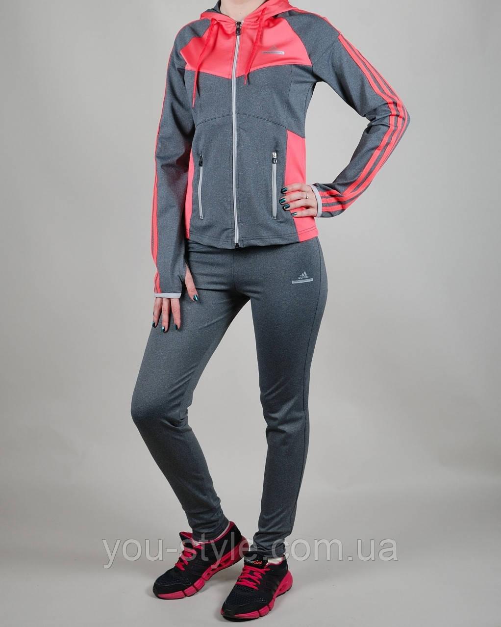 Женский спортивный костюм Adidas Stella Mccartney 1043 Серый - Интернет  магазин