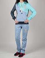 Спортивный костюм женский Speed Life 1050 Голубой