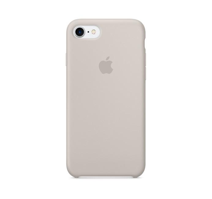Силиконовый чехол Apple / Original Apple iPhone 7 / 8 Silicone case Stone (MMWR2) Светло-серый, фото 1