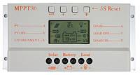 Контроллер заряда для солнечных батарей Y-SOLAR MPPT30 (12-24V 30А) +USB 5V0,5A