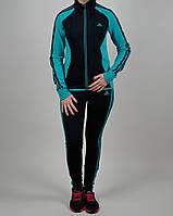 Женский спортивный костюм Adidas 1089 Тёмно-синий