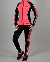 Женский спортивный костюм Adidas 1091 Коралловый