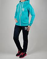 Зимний женский спортивный костюм Reebok 1114 Бирюзовый