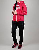Зимний женский спортивный костюм Reebok 1115 Малиновый