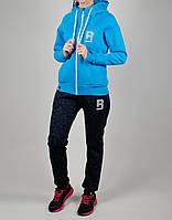 Зимний женский спортивный костюм Reebok 1116 Голубой