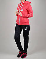 Зимний женский спортивный костюм Reebok 1117 Коралловый