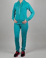 Женский спортивный костюм Nike 1124 Зелёно-Голубой