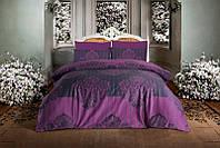 Комплект постельного белья Altinbasak Barok Mor Сатин Люкс 200*220