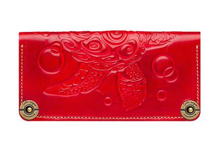 Зручний жіночий гаманець із натуральної шкіри
