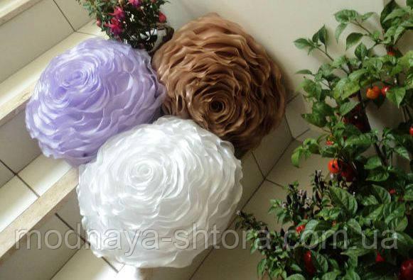 """Набір з 4 декоративних подушок """"Троянда"""""""