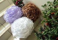 """Набір з 4 декоративних подушок """"Троянда"""", фото 1"""