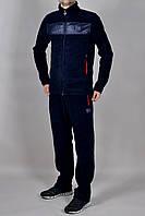 Зимний мужской спортивный костюм Adidas 2271 Темно-синий
