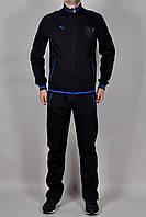 Зимний мужской спортивный костюм Puma 2311 Черный