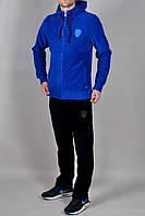 Зимний мужской спортивный костюм Puma 2313 Голубой