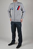 Зимний спортивный костюм мужской Puma BMW 2745 Серый
