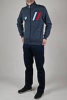 Зимний спортивный костюм мужской Puma BMW 2743 Синий-Чёрный
