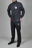 Зимний спортивный костюм мужской Adidas Porsche 2789 Серый
