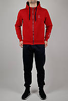 Зимний мужской спортивный костюм Nike 3212 Красный