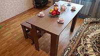 Стол обеденный, кухонный, гостевой + 2 табуретки.