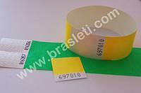 Контрольные бумажные браслеты Tyvek, 19мм (для клубов и не только)