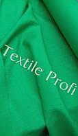 """Льняная сорочечная ткань """"Сочный зеленый"""""""