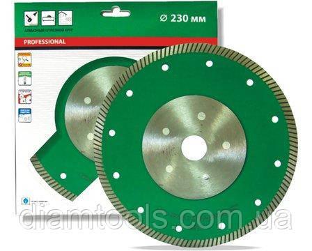 Алмазный диск турбо по граниту Distar 250x25.4 Turbo Elite Ultra