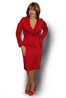 Стильный женский костюм большого размера