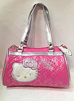 Сумка детская Hello Kitty малиновая