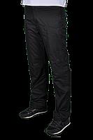 Зимние спортивные брюки Adidas на флисе 2230 Черные