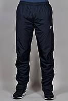 Зимние спортивные брюки Nike на флисе 2244 Черные