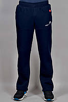 Зимние спортивные брюки Adidas Porsche 2296 Темно-синие